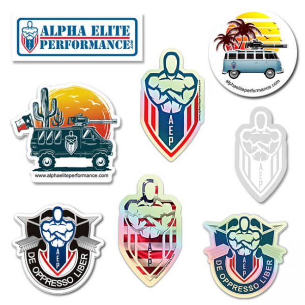 AEP STICKERS NEW