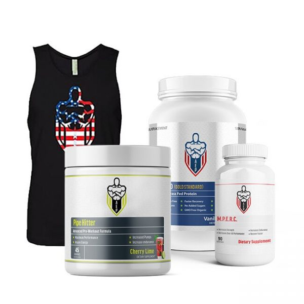 Veterans Fitness Stack Men